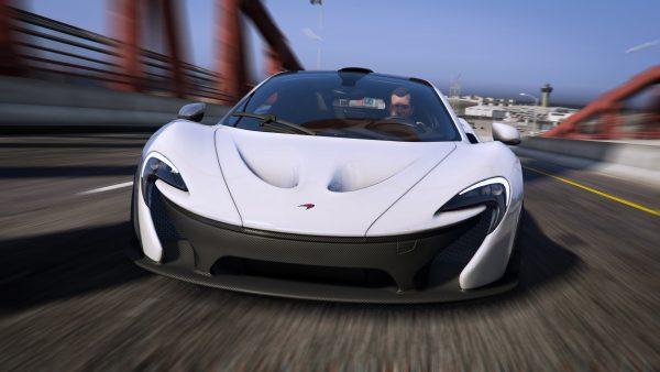 McLaren P1 fivem gta5 add-on