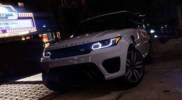 Ranger Rover fivem gta5 add-on