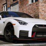 Nissan GT-R Nismo fivem gta5 add-on