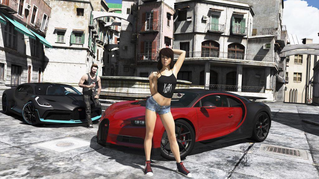 Bugatti Chiron Add-on fivem gta5